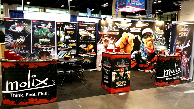 Molix booth ICAST 2015
