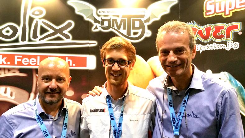 David Hall di Tackle Trade World, un ottimo partner nel lavoro ed un buon amico di Molix