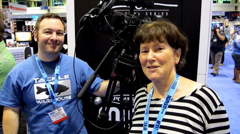 William West from TW with Brigitte Leuthold Molix USA