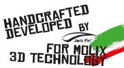 Handcrafted Developed by Jack Fin for Molix 3D Technology