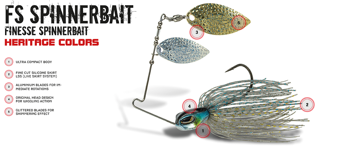 FS Spinnerbait Heritage Colors